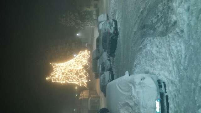 bellissima nevicata