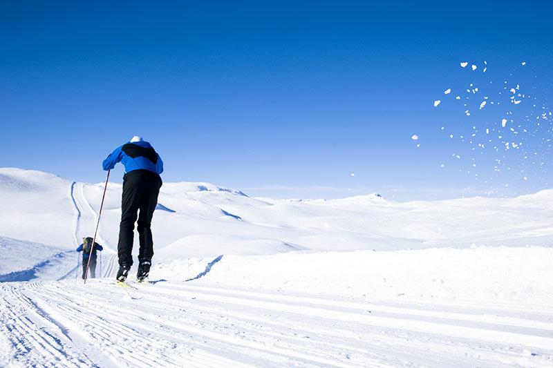 Langrennsmulighetene ligger til rette for deg på Haukelifjell - © Vegard Breie