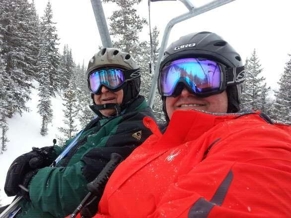 Riding the  Supreme lift.. a as tying 6-8 inches today