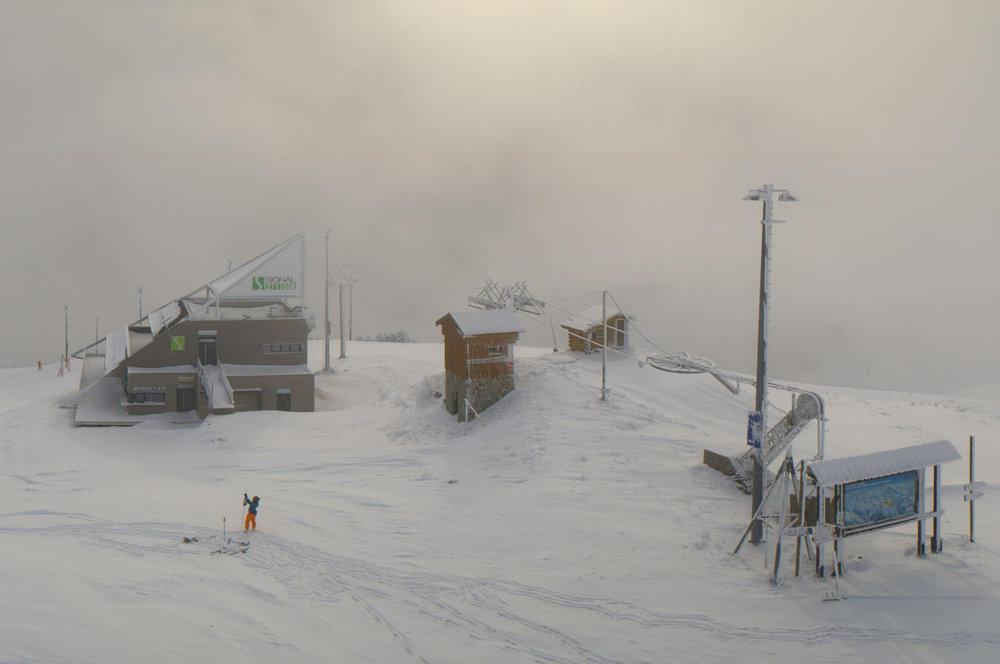 Alpe d'Huez, Nov. 20, 2013