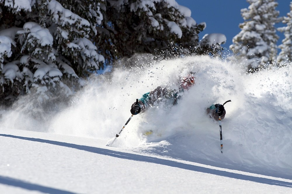 Alta's famous bottomless powder. Photo by Liam Doran
