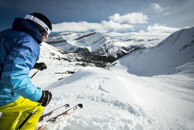 Lake Louise covers 4,200 acres of skiable terrain. - © Travel Alberta