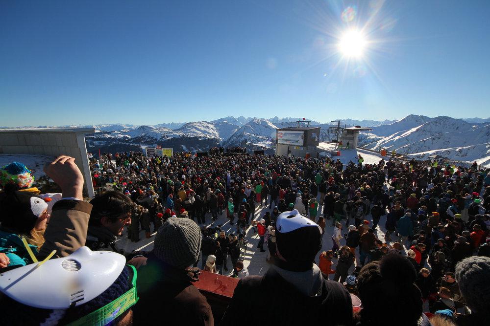 Rave on Snow 2013 auf dem Schattberg