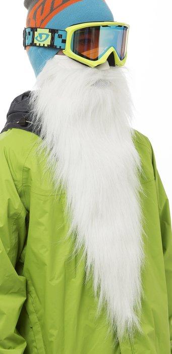 Vtipný darček pre tých, kto chcú na zjazdovkách vyzerať ako Santa Claus (alebo Mrázik) - © www.beardski.com