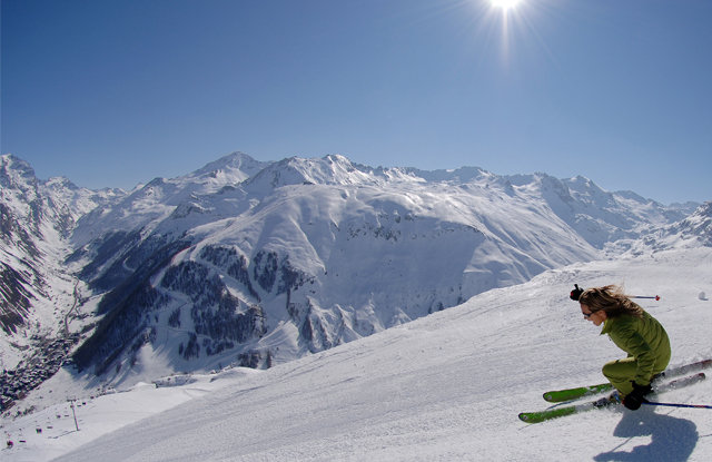 Val d'Isere is one of the most expansive and impressive stops on the World Cup as far as ski terrain goes.
