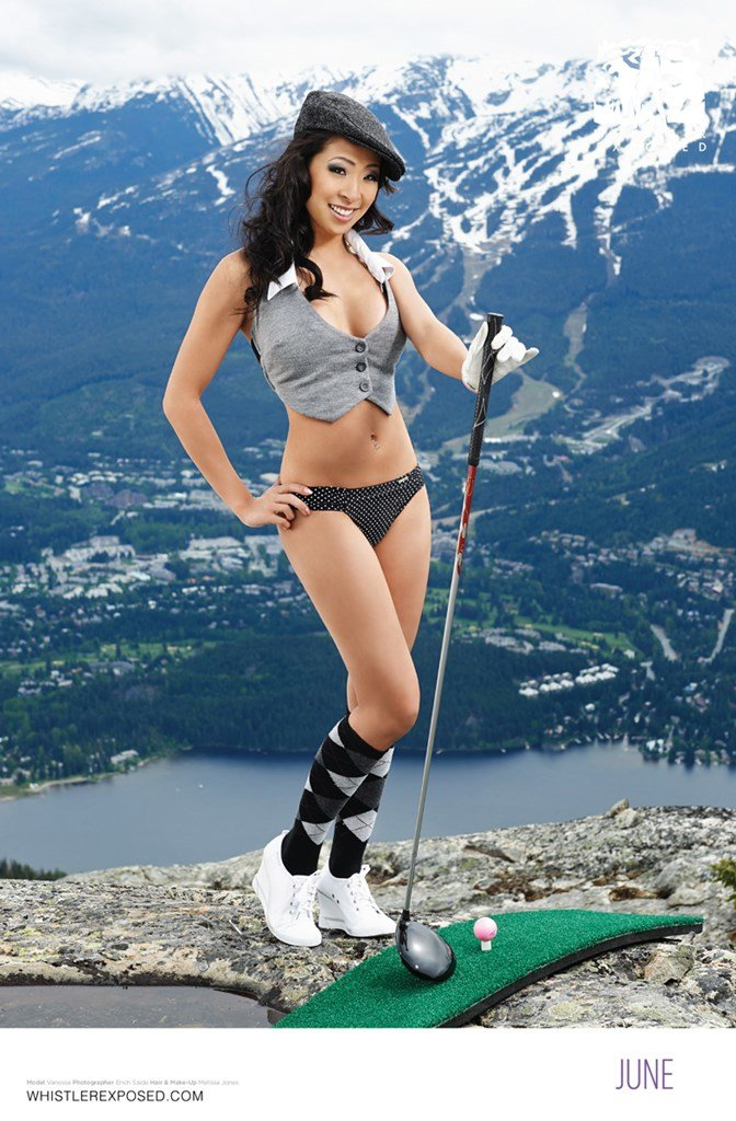Whistler Exposed Bikini Calendar 2014: July
