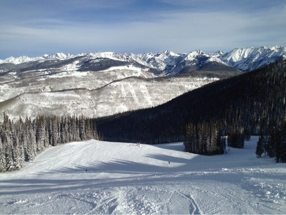 Can somebody name this trail at Vail?  I ventured on to this trail but forgot the name.  All I know was that it is black, but it seems like a blue.  I would like to ski it again.