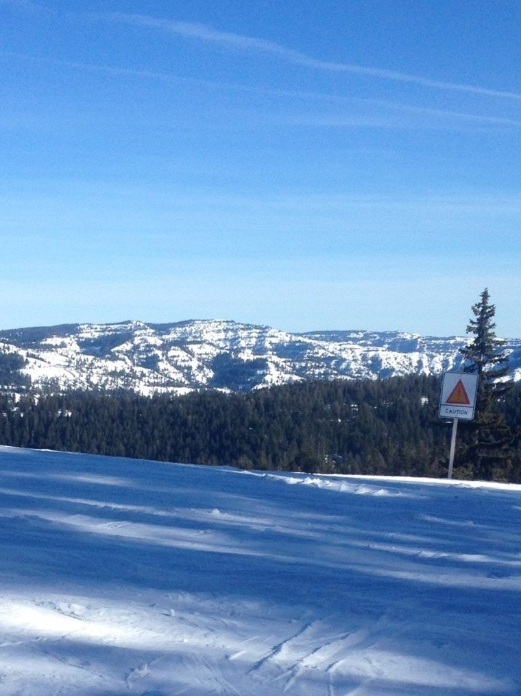 real nice groomers, still some good skiing on the off slopes/trees. plus, new ticket specials