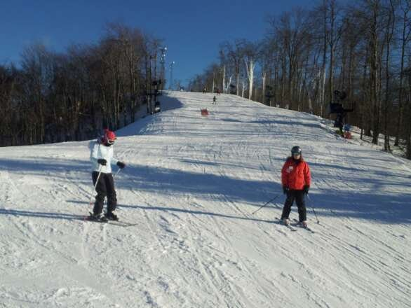 Great day out there today (Sunday 1/19) Trails nice with a couple icey spots. Nice crowd and great time.