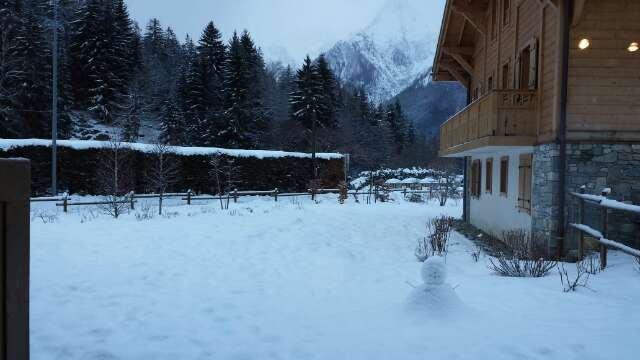 Snow over night Ski runs in good condition
