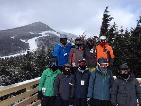 Great time a whiteface. Cold but fun.