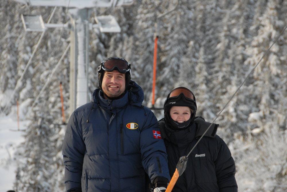 Aina og Carl Axel - © Olav André Melan