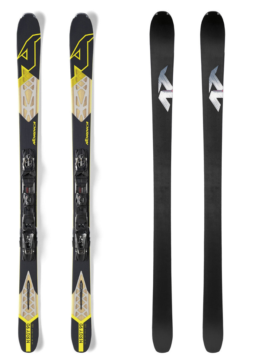 Front and back: Nordica NRGy 90 EVO - ©Nordica