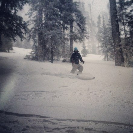 Awesome day Friday. Finally got some much needed snow. Bowl side is only open still. Hopefully this storm opens up ridge!