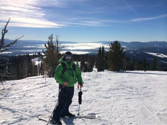 Brundage is one of the best ski resorts I've been to on a long time. Affordable prices with Aspen runs. Love it