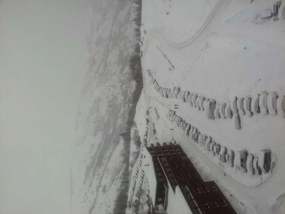 il neige depuis hier soir