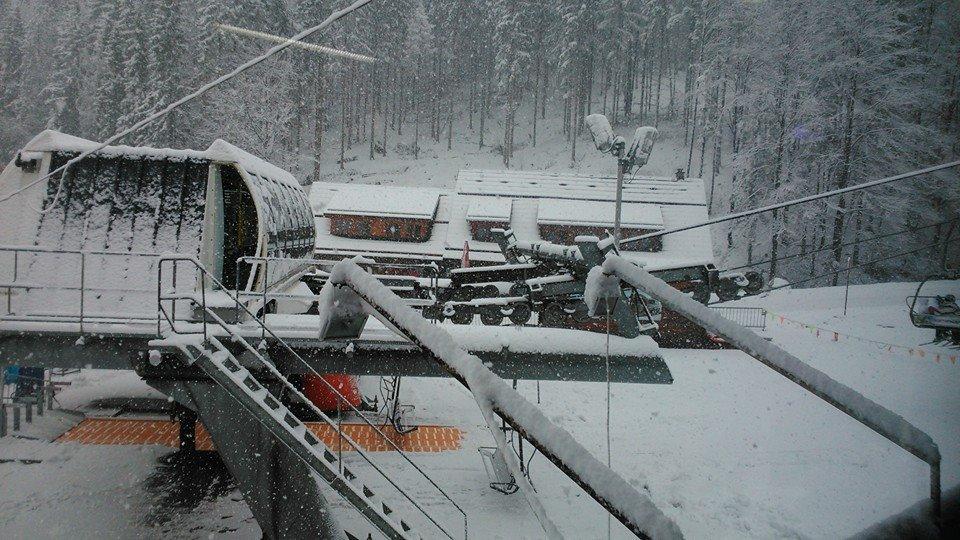 Veľká Rača Oščadnica 12.2.2014 - © Snowparadise Veľká Rača Oščadnica