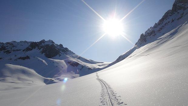 Aufstiegsspur Bergamotte - © bergamotte.hikr.org