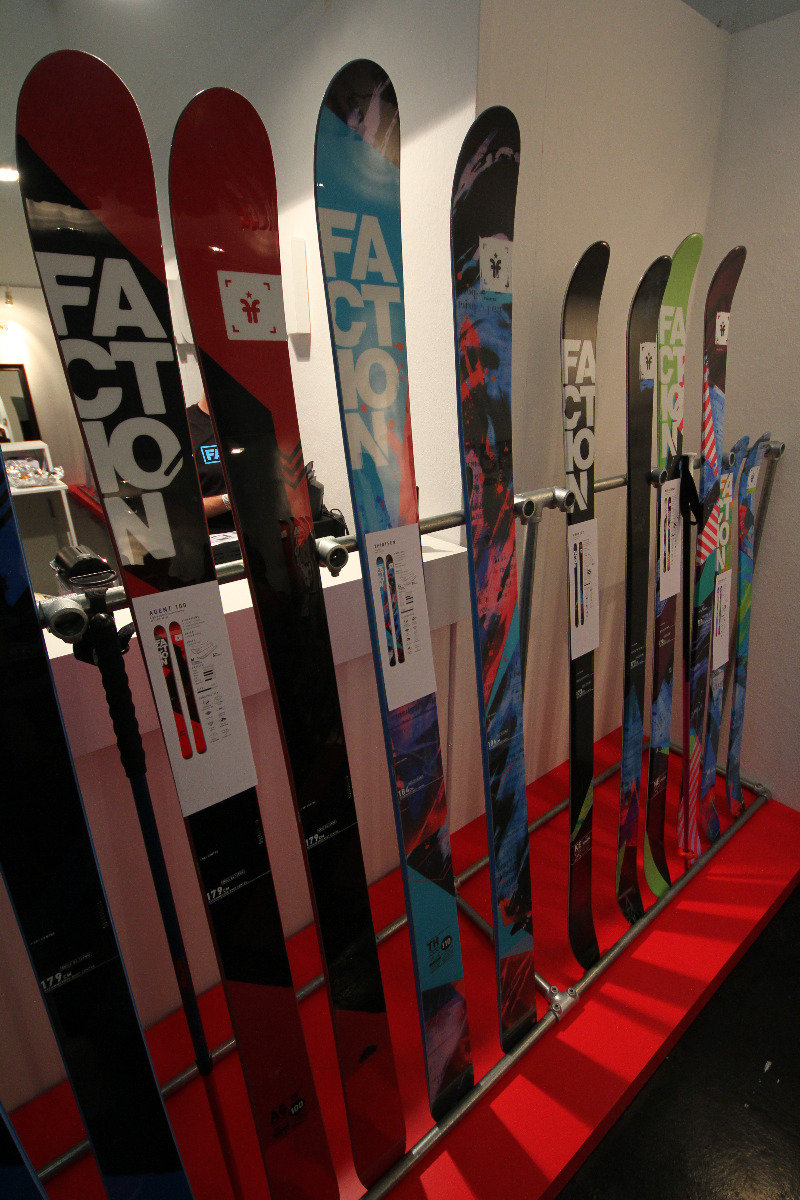 Factions skis at ISPO 2014 - © Skiinfo