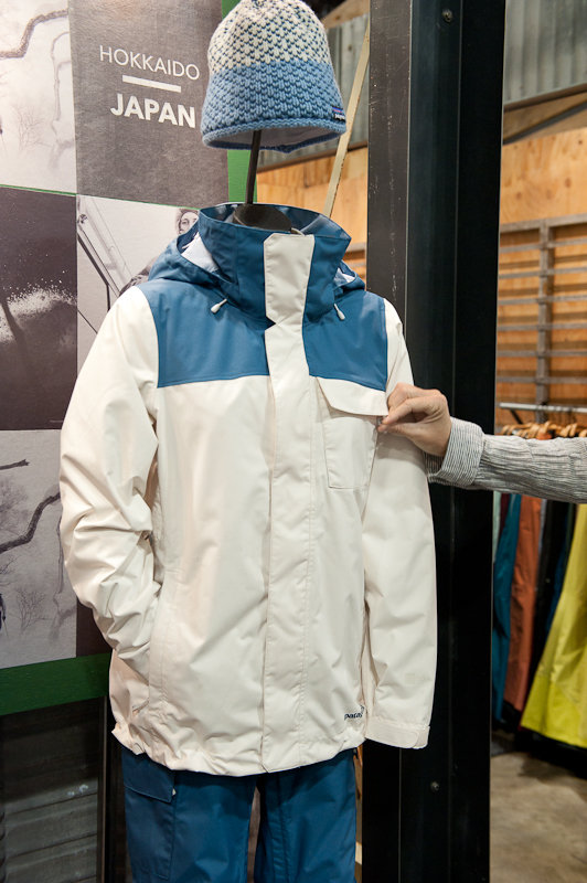 Patagonia's new-for-fall Snowbelle Jacket, a resort-centric style for the ladies.  - © Ashleigh Miller Photography