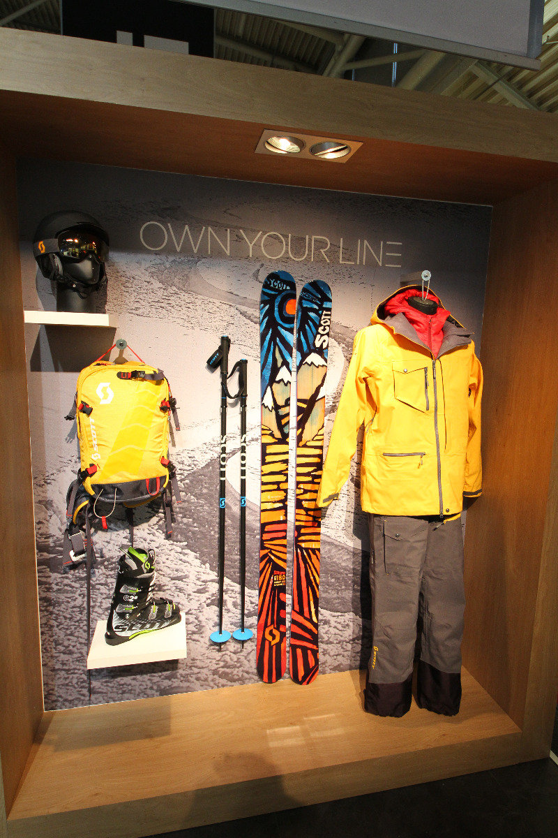Scott stand at ISPO 2014 - © Skiinfo
