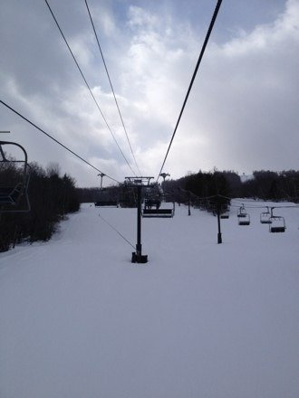Real nice today. Nicely groomed packed. Place was empty. Must have done 30 runs