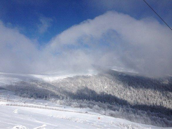 Journée parfaite soleil et neige au rendez vous !!
