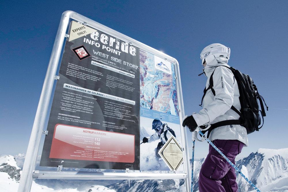 Infopoint am Kitzsteinhorn - © Gletscherbahnen Kaprun AG