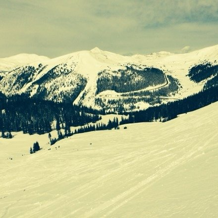 Arapahoe Basin has great terrain, no crowds, and cool people.