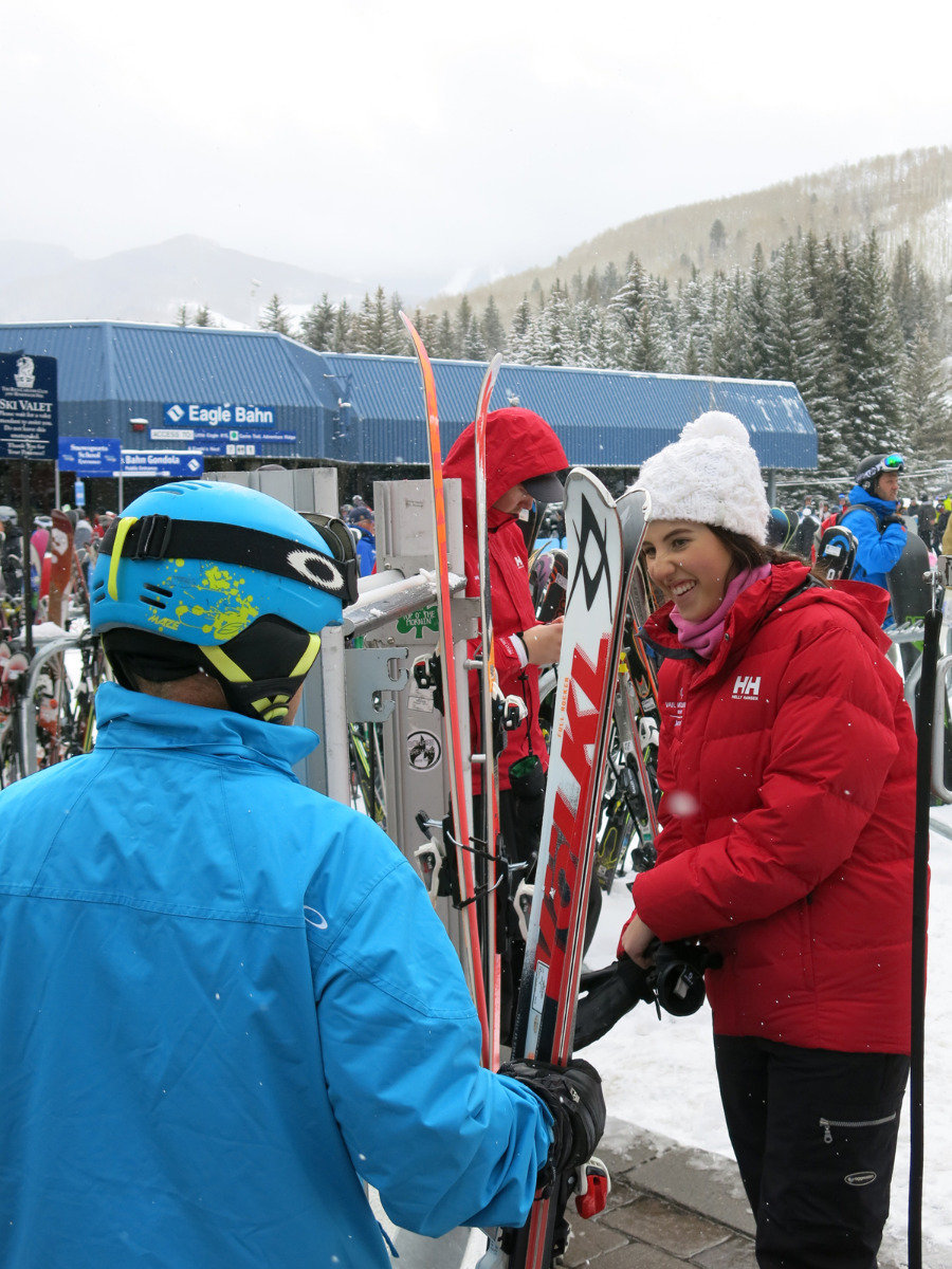 Got your skis? Ready to go? Onto the slopes in Vail - ©Micaela Romani