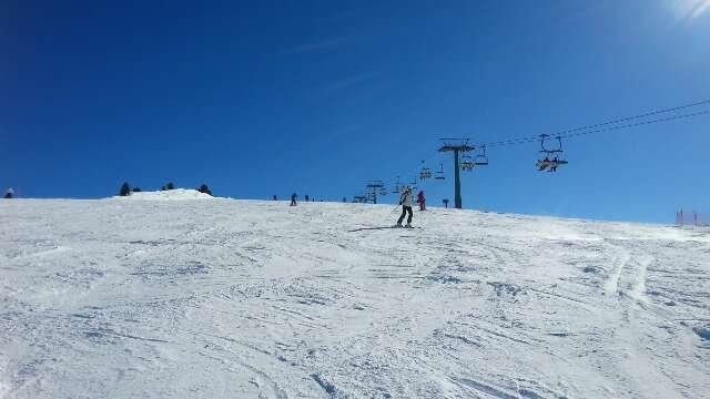 neve molto buona e tempo ok le piste cedono un po nel pomeriggio ma neanche molto. Cermis piccolo comprensorio ma con belle piste