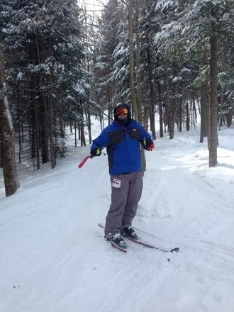 Ski good or eat wood! Barkeater and all glades were awesome today!