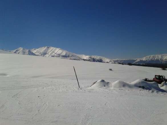 Passo Lanciano- Neve di Marzo 2014