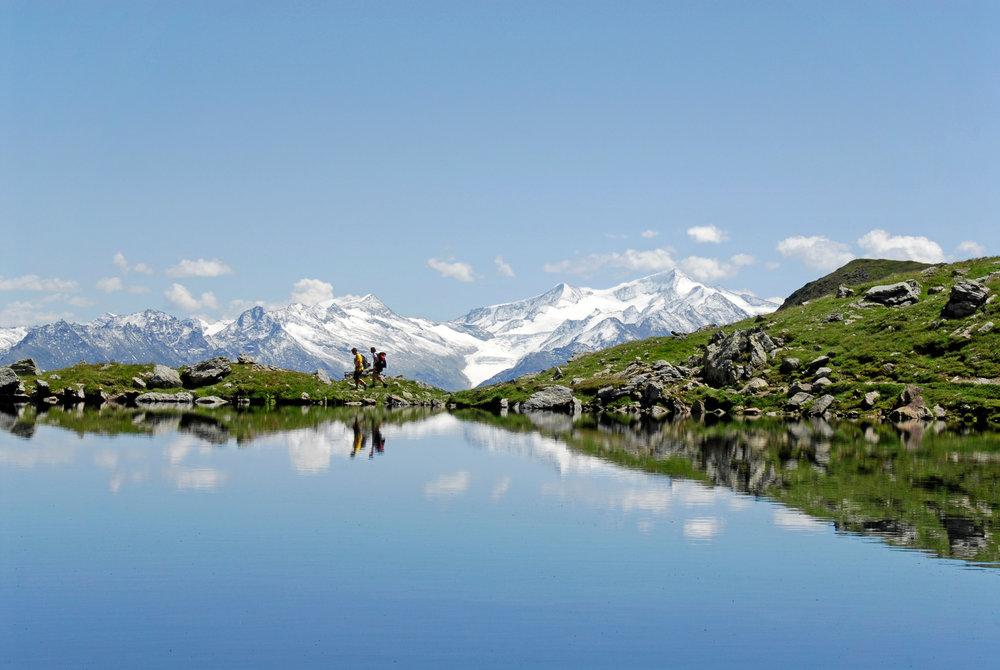 Der Obere Wildalmsee in der Kelchsau - © Stefan Astner