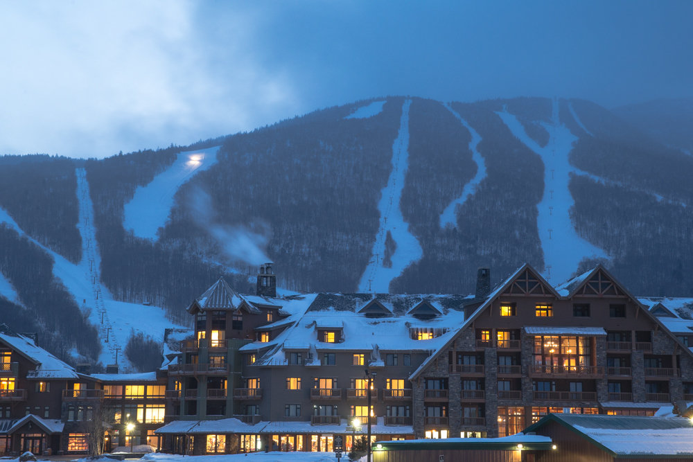 Stowe has it all. Great skiing, lodge, location and more. - © Liam Doran