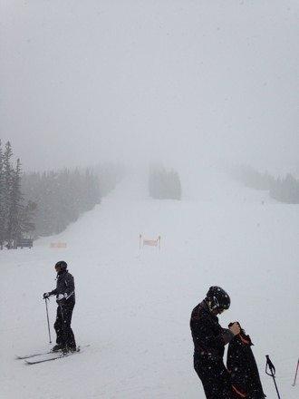 Aspen Highland epic fresh powder all day long