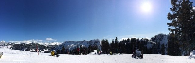 Yesterday was so amazing for spring boarding!