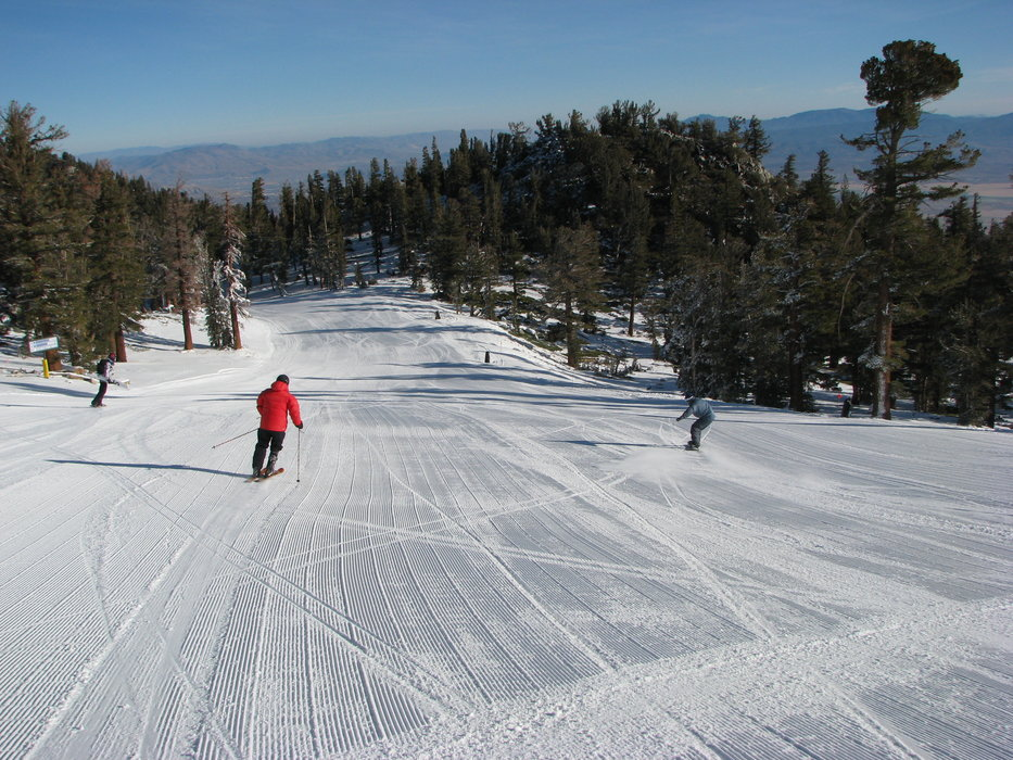 Opening day 2008 at Heavenly, CA.