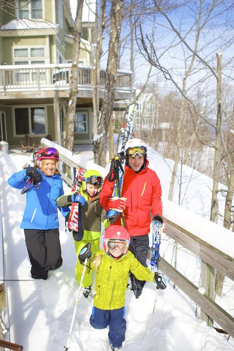 Families will find a stress-free ski trip at Okemo. - © Okemo Mountain Resort