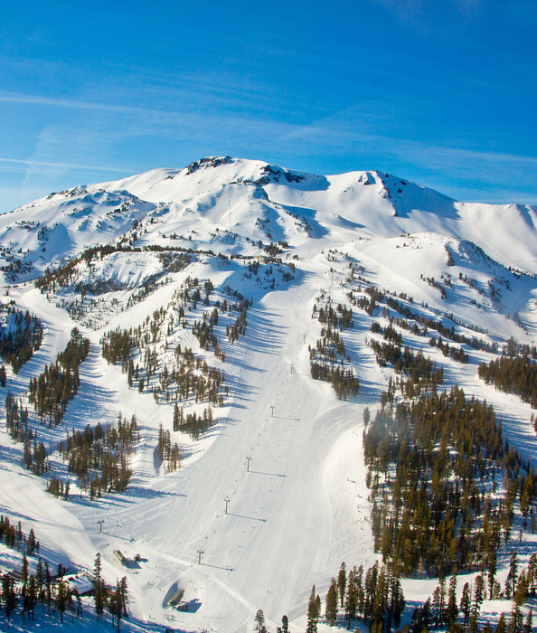 Mammoth Mountain has terrain to suit all skier/rider styles and skills. - © Peter Morning
