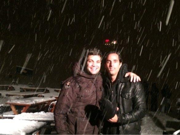 Tremenda nevada esta noche - a disfrutar de las pistas - vamossssssss!!