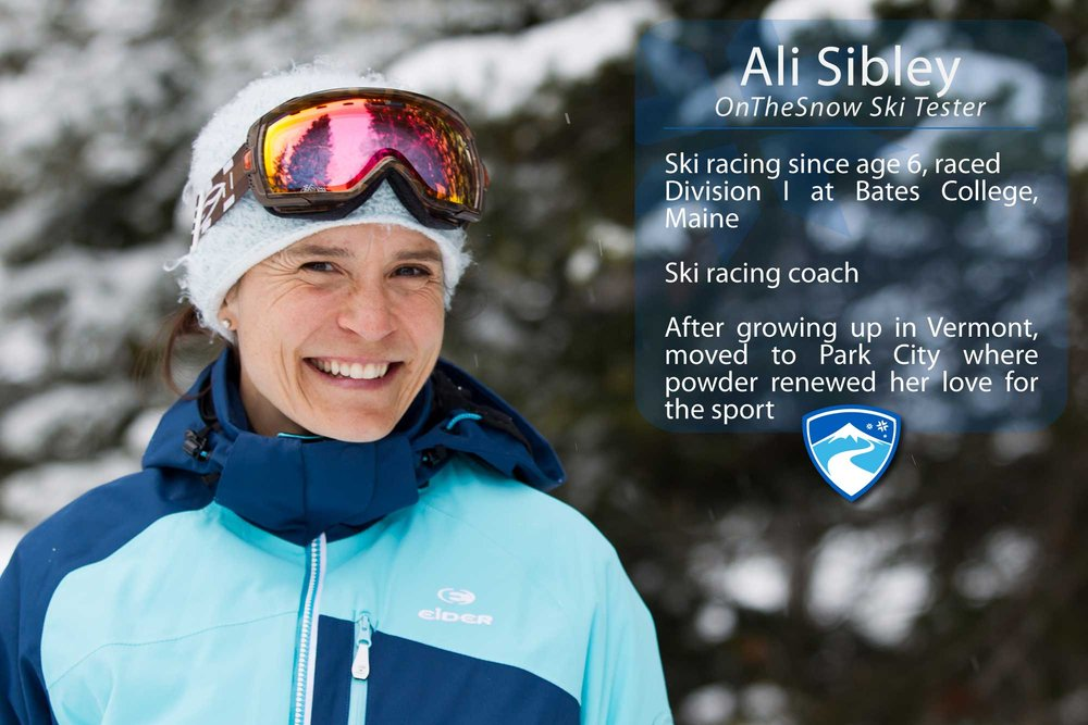 "Ali Sibley, 40. What's the worst thing that's ever happened to you while skiing? ""I once hit a huge rut on a GS course on Skylark at Killington, VT. I pre-released and landed with my pole into my stomach, under my ribs. It was incredibly painful, but nothing broken or ruptured.""  - © Cody Downard Photography"
