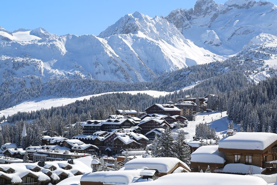 Fresh snow in Courchevel, France - © Courchevel Tourism