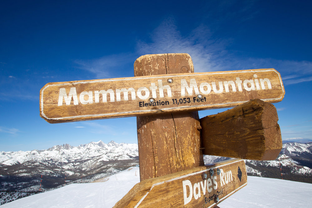 Mammoth Mountain offers one of the longest ski seasons in North America, with an average of 300 days of sunshine. - © Cody Downard Photography