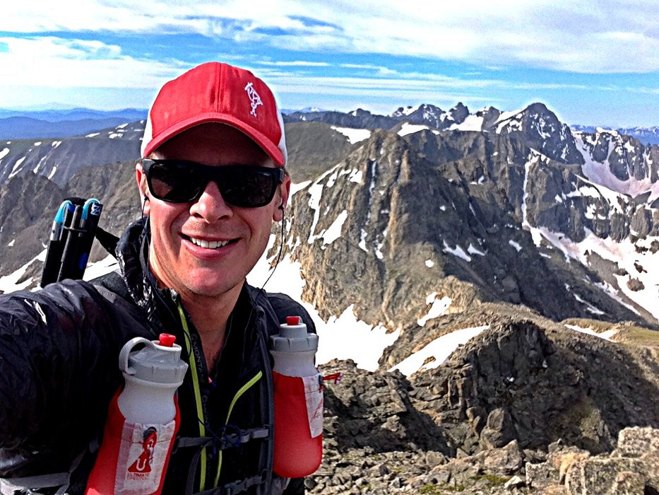 Chris Tomer trail running in Indian Peaks, Colorado. - © Chris Tomer