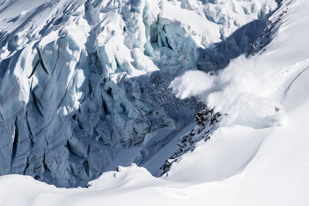 "Best Snowboard Photo beim ""Click on the mountain"" in Courmayeur - © Tim Lloyd"