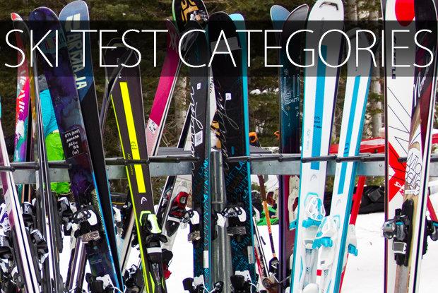 Ski Test category breakdown - © Cody Downard Photography