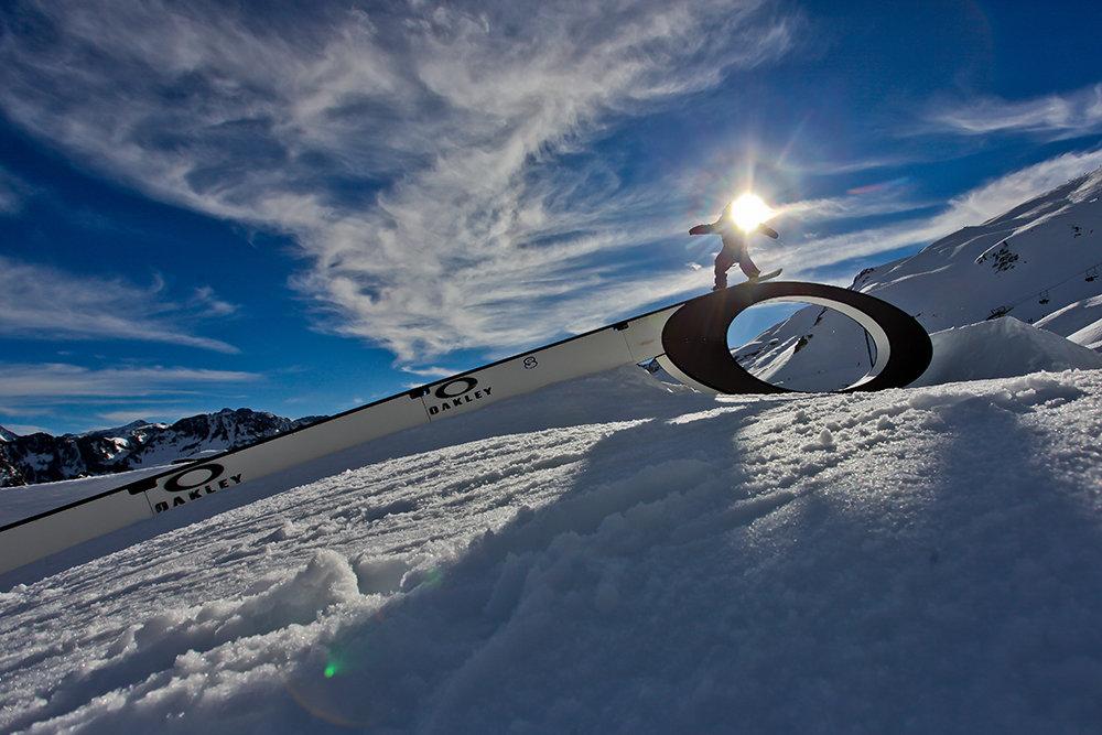 Snowpark de Cauterets - © NPY Cauterets