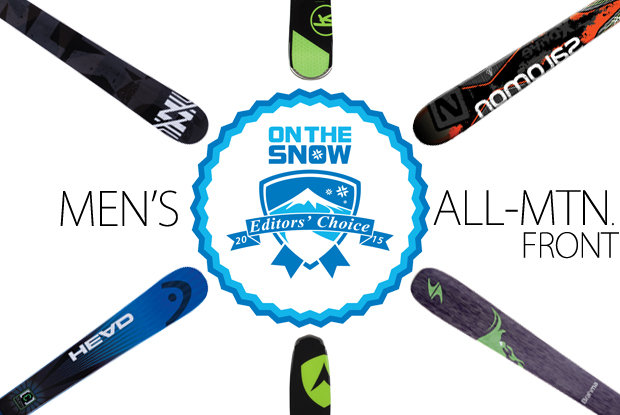 2015 Editors' Choice Men's All-Mountain Front Skis.