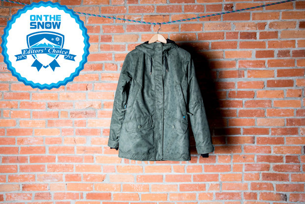2015 women's Editors' Choice jackets: Obermeyer Isla Jacket - © Liam Doran
